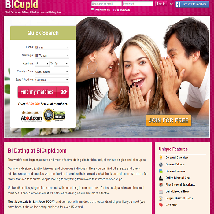 bicupid Homepage
